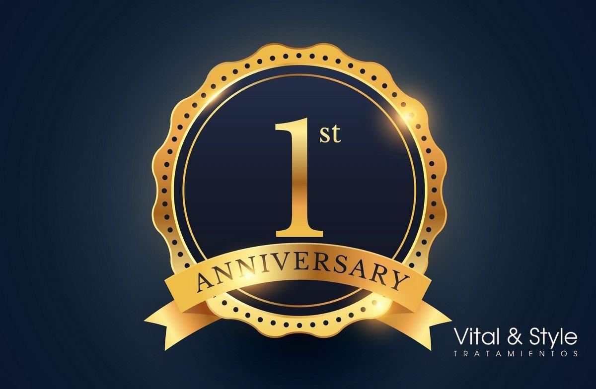 I Aniversario · Vital & Style Tratamientos